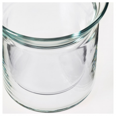 Стакан АВРУНДАД двуслойные стенки, прозрачное стекло фото 2