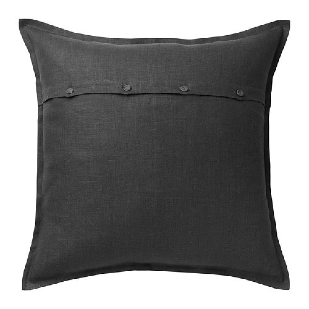 Чехол на подушку АЙНА темно-серый  фото 1